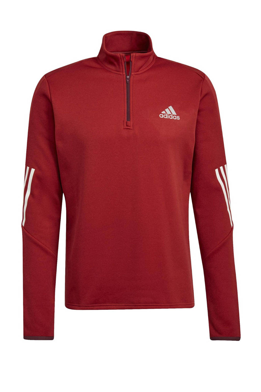 adidas Performance   sport T-shirt donkerrood, Donkerrood