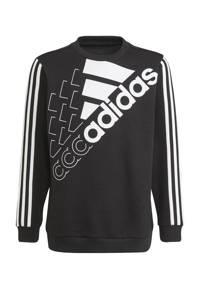 adidas Performance   sportsweater zwart/wit, zwwart/wit