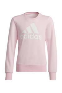 adidas Performance sportsweater roze/wit, Roze/wit