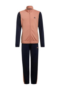 adidas Performance trainingspak donkerblauw/roze, Donkerblauw/roze