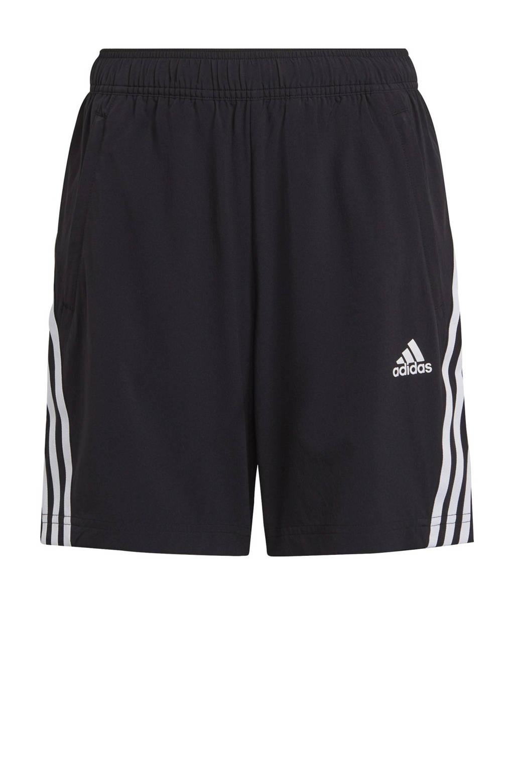 adidas Performance   sportshort zwart/wit, Zwart/wit