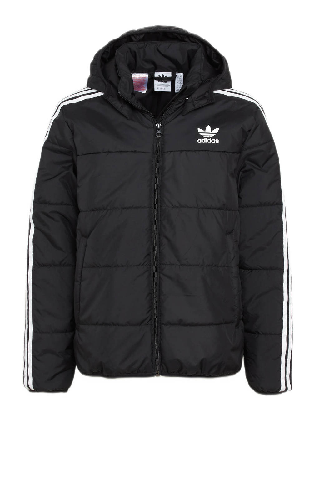 adidas Originals Adicolor jas zwart/wit, Zwart/wit