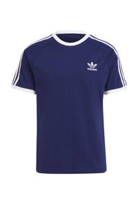 adidas Originals Adicolor T-shirt donkerblauw/wit, Donkerblauw/wit