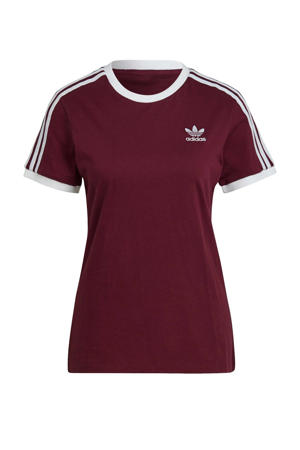 Adicolor T-shirt grijs melange/wit