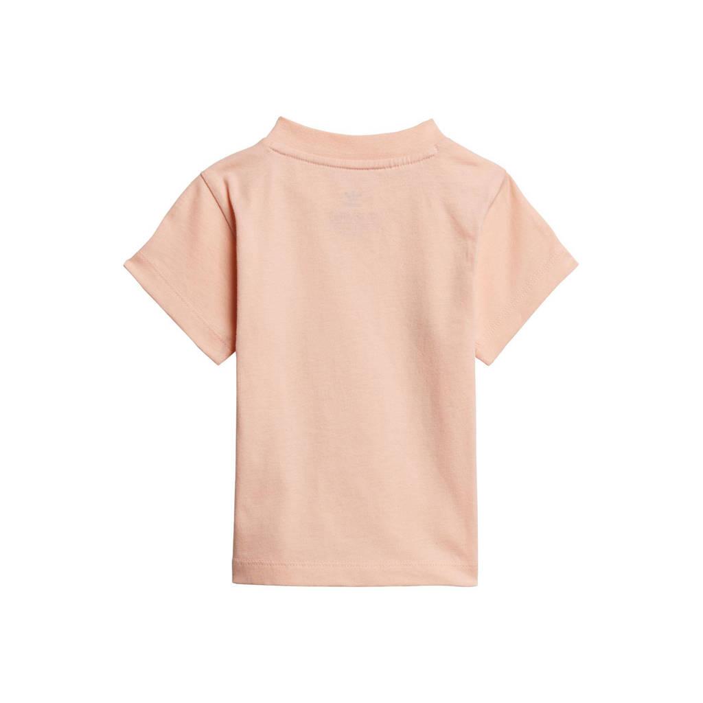 adidas Originals Adicolor T-shirt lichtroze/wit, Lichtroze/wit