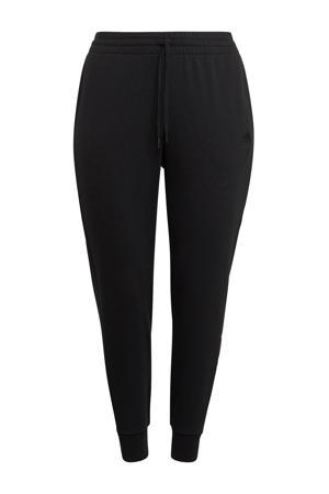 Plus Size joggingbroek zwart/goud