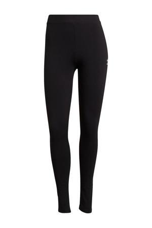 Adicolor legging zwart/wit