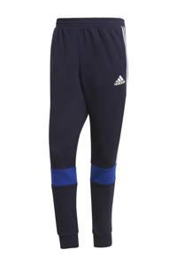 adidas Performance   joggingbroek donkerblauw/wit/kobaltblauw, Donkerblauw/wit/kobaltblauw