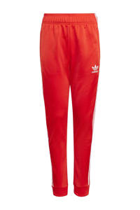 adidas Originals Super Star Adicolor trainingsbroek rood/wit, Rood/wit