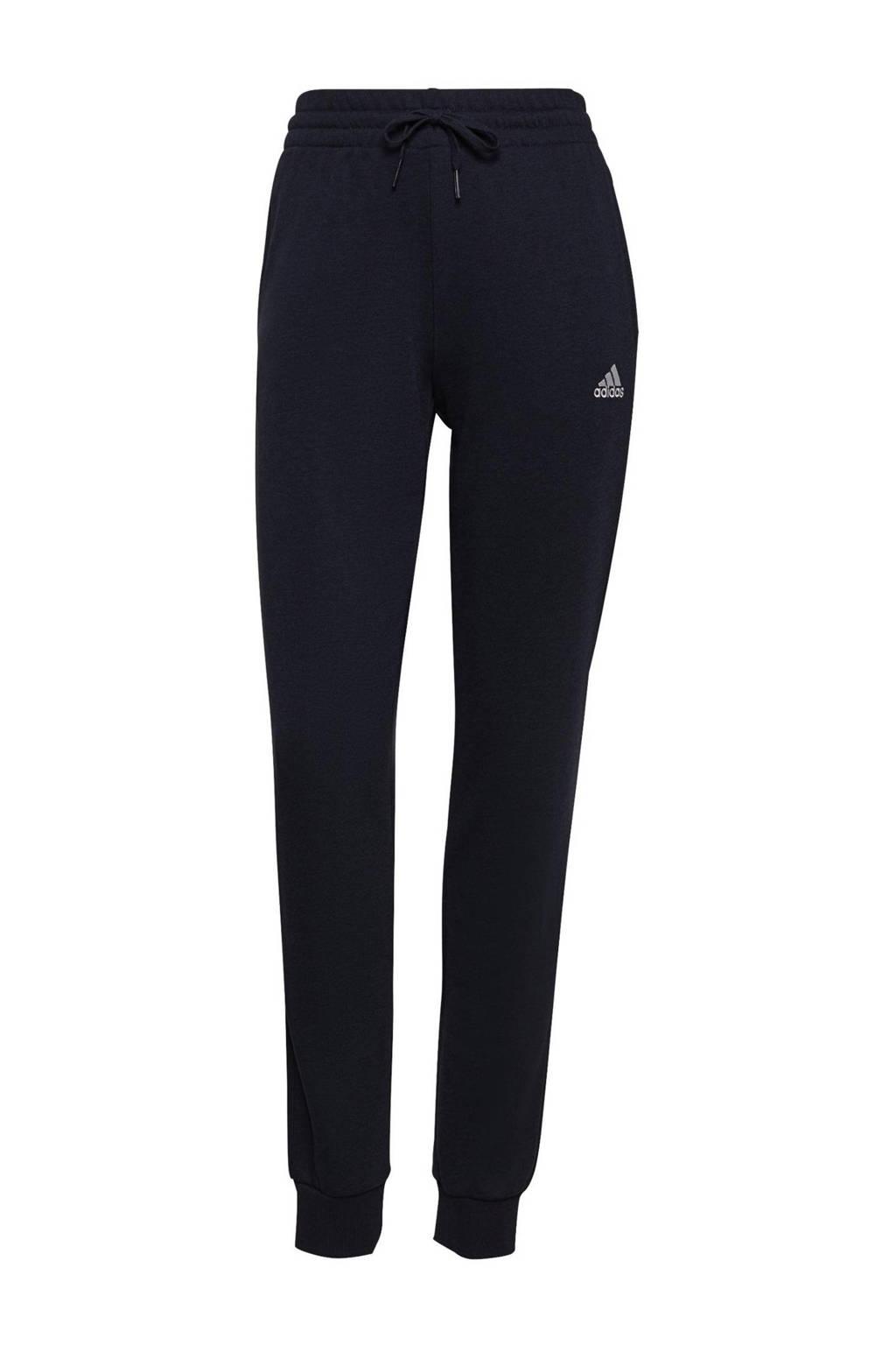 adidas Performance joggingbroek zwart/wit, Donkerblauw/wit