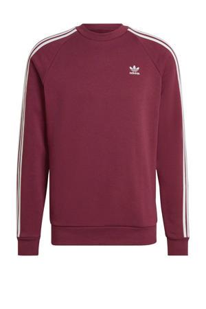 Adicolor sweater donkerrood