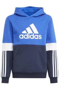adidas Performance   fleece sportsweater kobaltblauw/donkerblauw, Kobaltblauw/donkerblauw