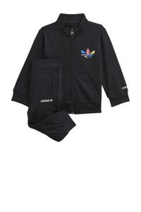 adidas Originals   Super Star Adicolor trainingspak zwart, Zwart