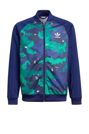 Superstar vest donkerblauw/multicolor