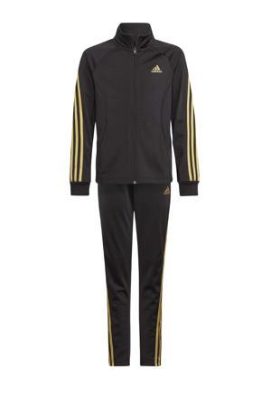 trainingspak zwart/goud