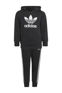adidas Originals   Adicolor trainingspak zwart/wit, Zwart/wit