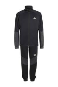 adidas Performance   trainingspak zwart/antraciet/wit, Zwart/antraciet/wit