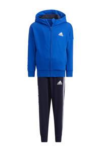 adidas Performance   trainingspak kobaltblauw/donkerblauw, Kobaltblauw/donkerblauw
