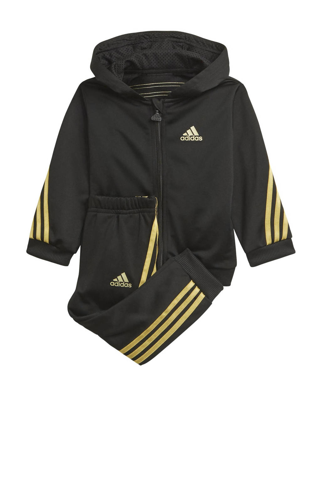 adidas Performance joggingpak zwart/goud, Zwart/goud