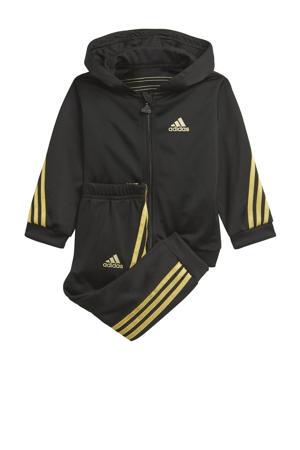 joggingpak zwart/goud