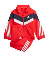 adidas Performance   trainingspak rood/donkerblauw/wit, Rood/donkerblauw/wit
