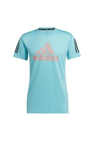 sport T-shirt mintgroen