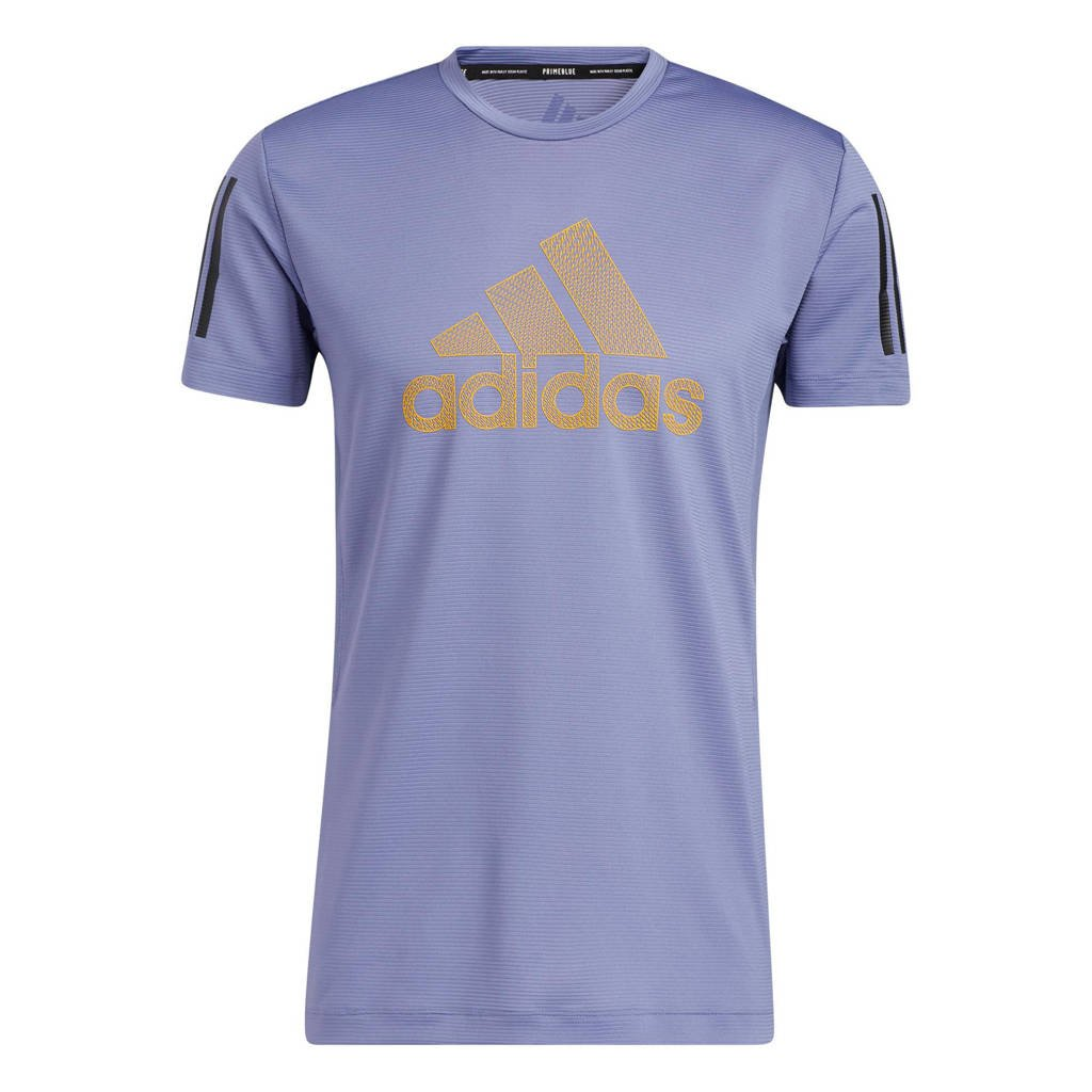 adidas Performance   sport T-shirt paars, Paars