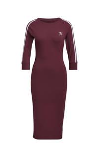 adidas Originals Adicolor jurk donkerrood, Donkerrood