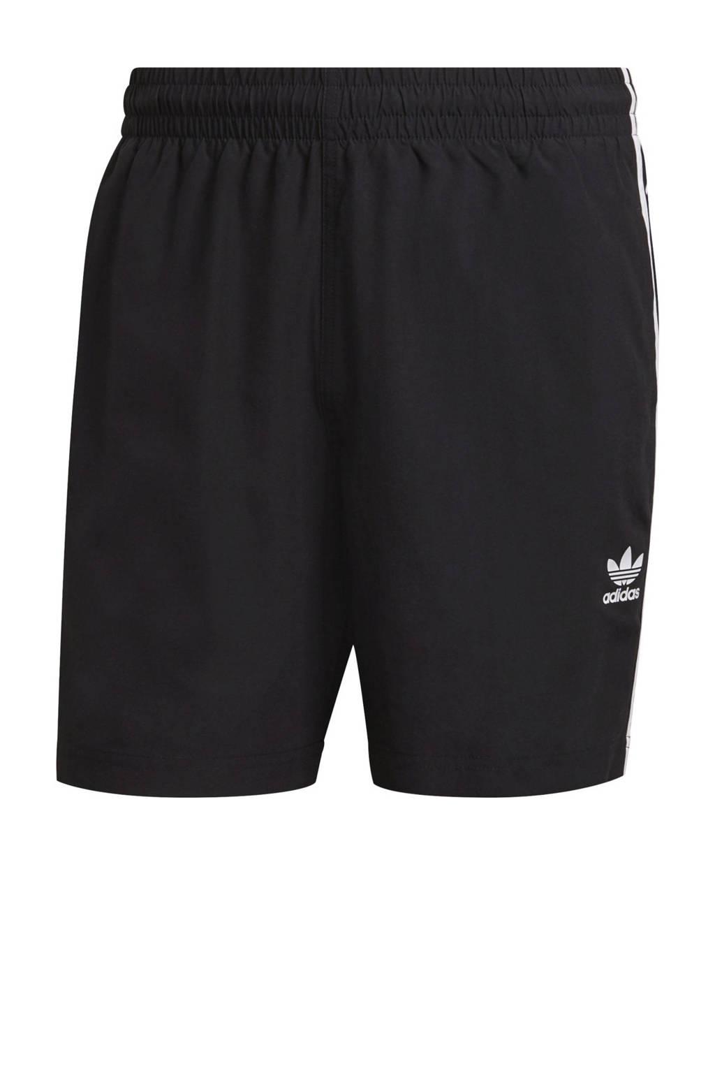 adidas Originals Adicolor zwemshort zwart, Zwart