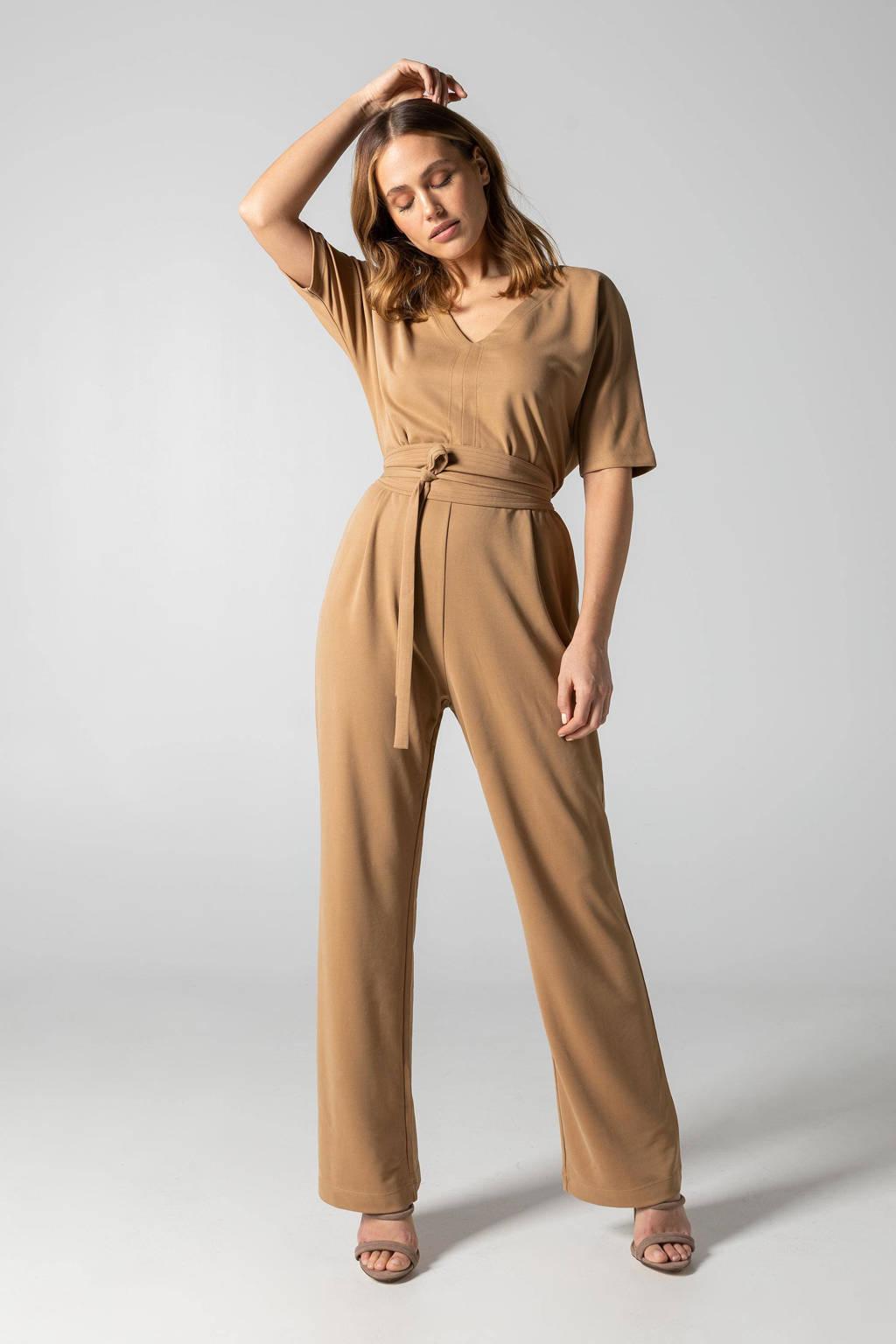 Claudia Sträter jumpsuit camel, Camel