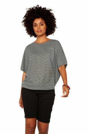 T-shirt Jaba 21 grijsblauw