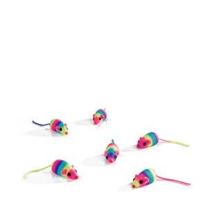 speelmuisjes Rainbow (5 stuks)