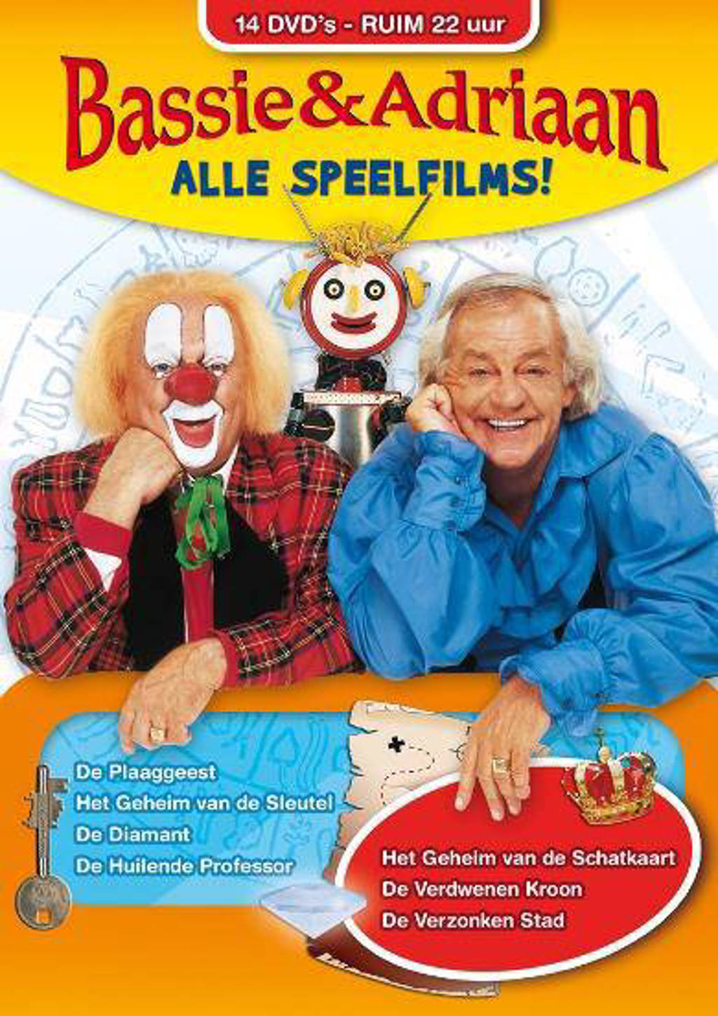 Bassie & Adriaan - Alle speelfilms (DVD)