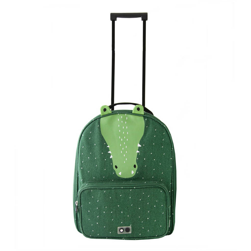 Trixie trolley Mr. Crocodile groen, Groen