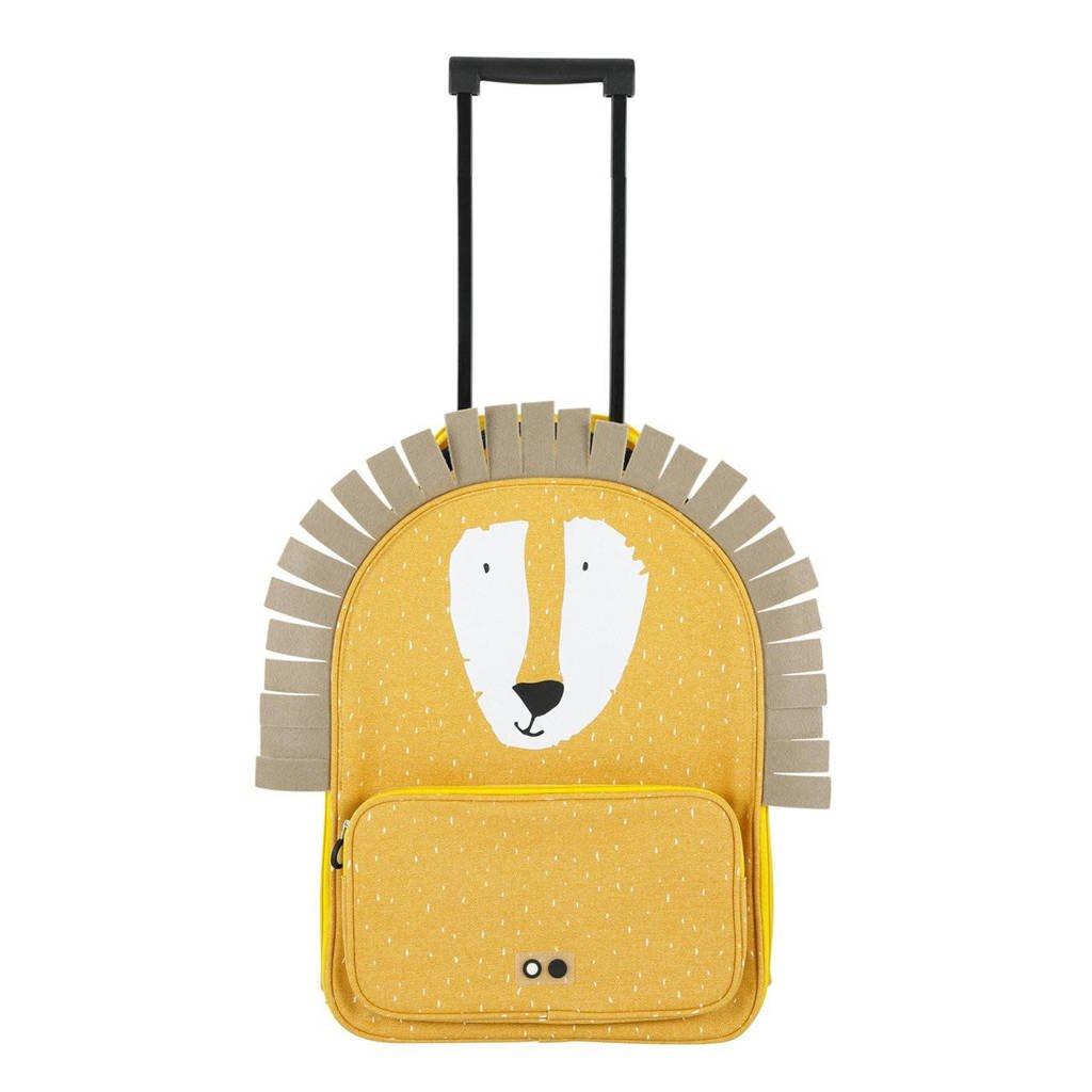 Trixie trolley Mr. Lion geel, Geel