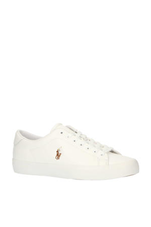 Longwood  leren sneakers wit