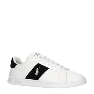 Heritage Court II  leren sneakers wit/zwart