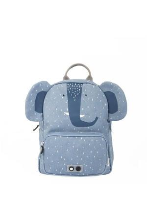 rugzak Mrs. Elephant lichtblauw