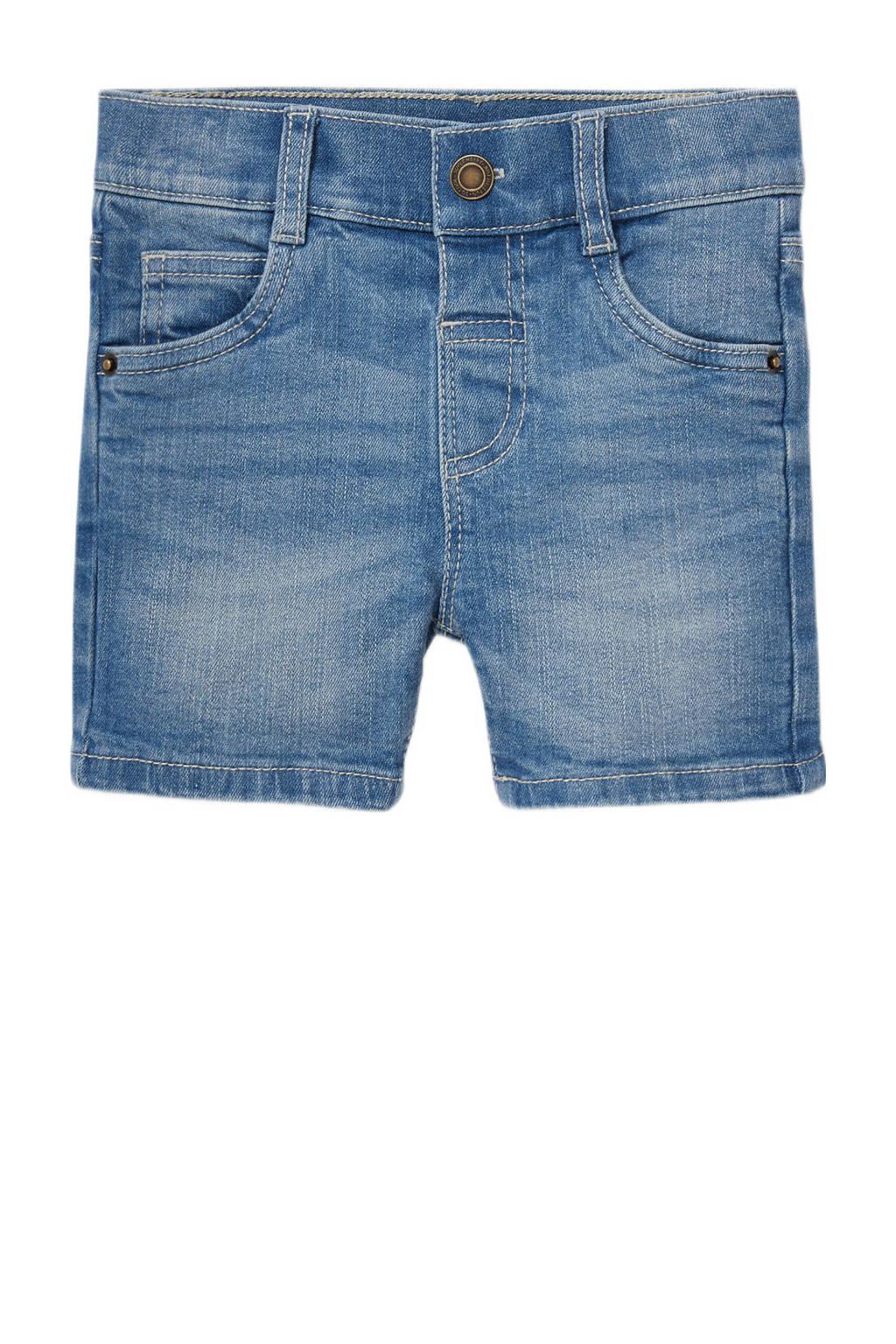 C&A Baby Club baby jeans bermuda blauw, Blauw