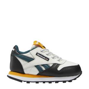 Classic Leather  sneakers beige/zwart/geel
