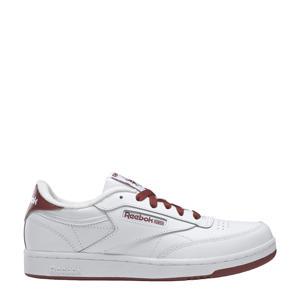 Club C  sneakers wit/roodbruin