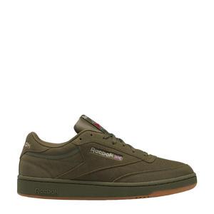 Club C 85 sneakers donkergroen/beige/camel