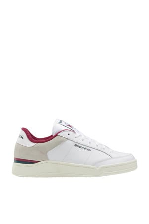 AD Court  sneakers wit/donkergroen/fuchsia