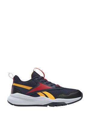 XT Sprinter 2.0 hardloopschoenen donkerblauw/rood/goud