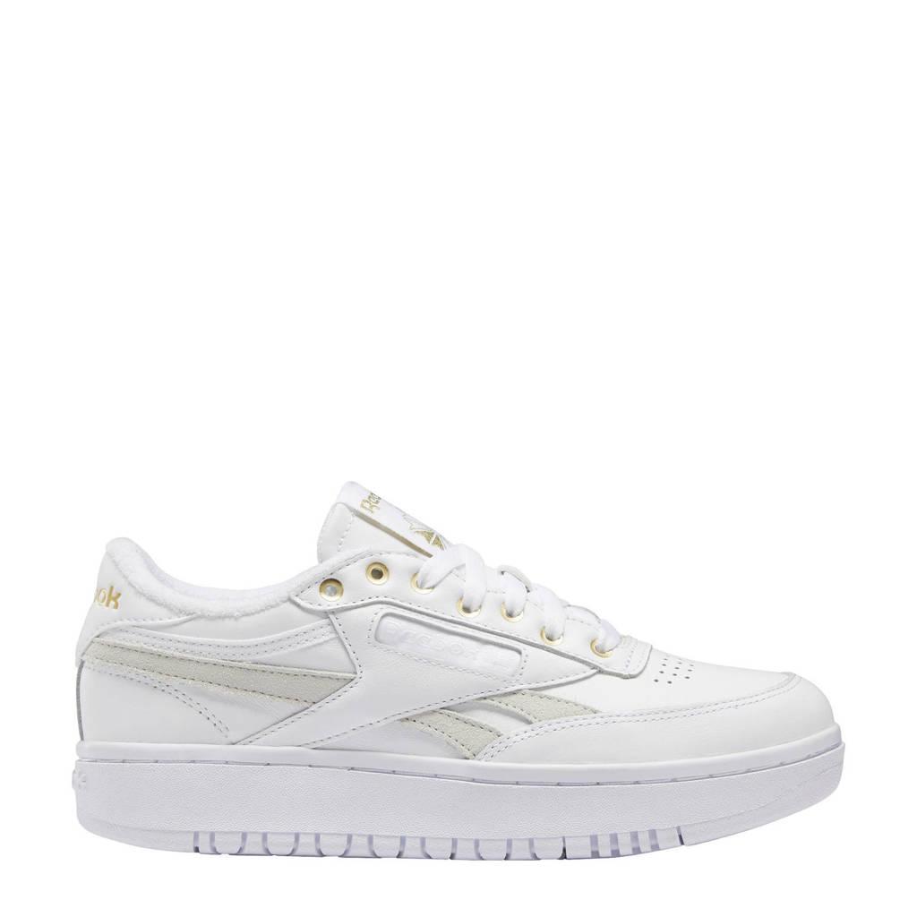 Reebok Classics Club C Double sneakers wit/goud, Wit/goud