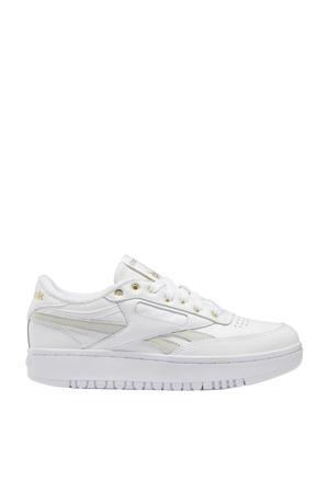 Club C Double sneakers wit/goud