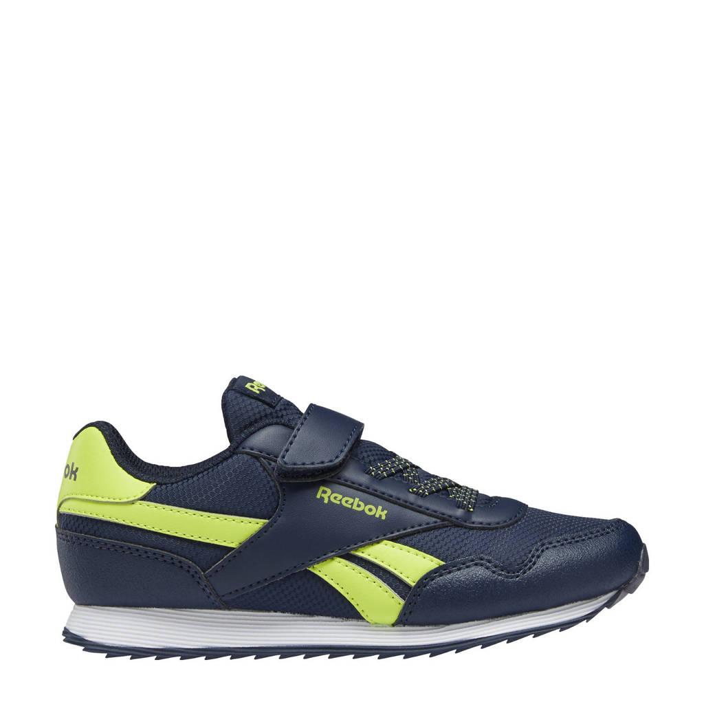 Reebok Classics Royal Classic Jogger 3.0 sneakers donkerblauw/geel, Donkerblauw/geel