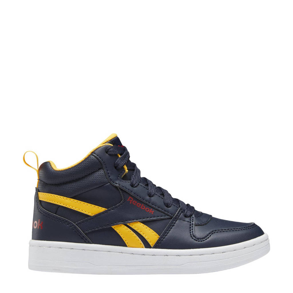Reebok Classics Royal Prime 2.0 Mid sneakers donkerblauw/geel, Donkerblauw/geel