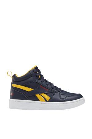 Royal Prime 2.0 Mid sneakers donkerblauw/geel