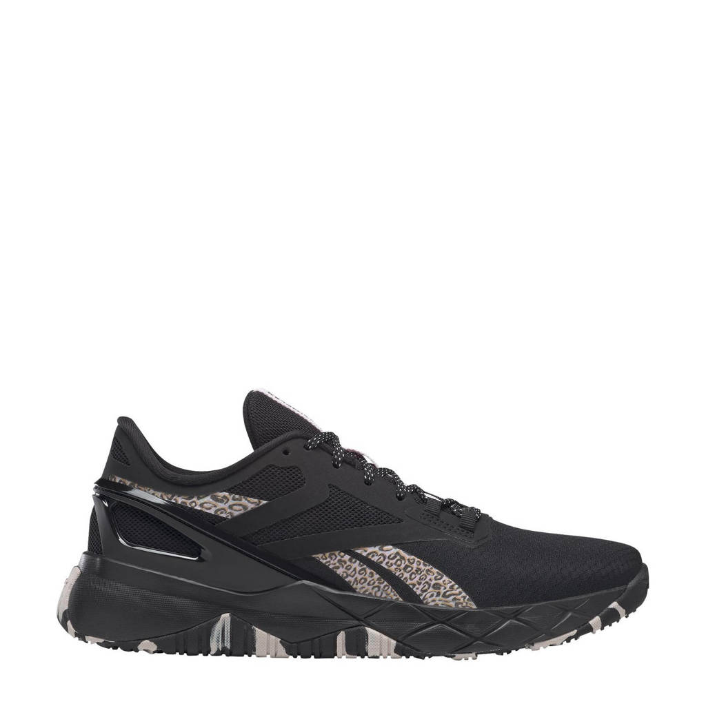 Reebok Training Nanoflex Training fitness schoenen zwart/lichtgrijs/ecru